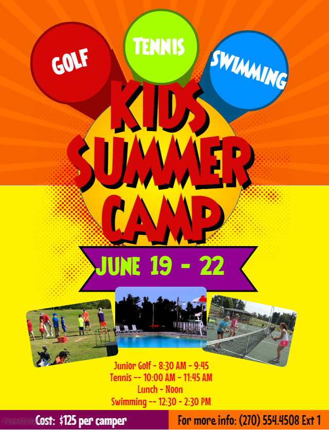 Summer Camp Flyer 2017 | Rolling Hills Country Club
