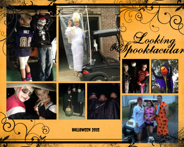Kids Halloween Collage 2015