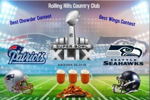 Super Bowl 2015 Flyer