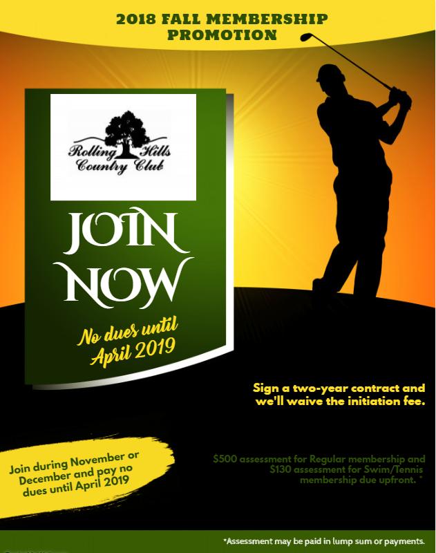 Membership Promotion Fall 2018 A