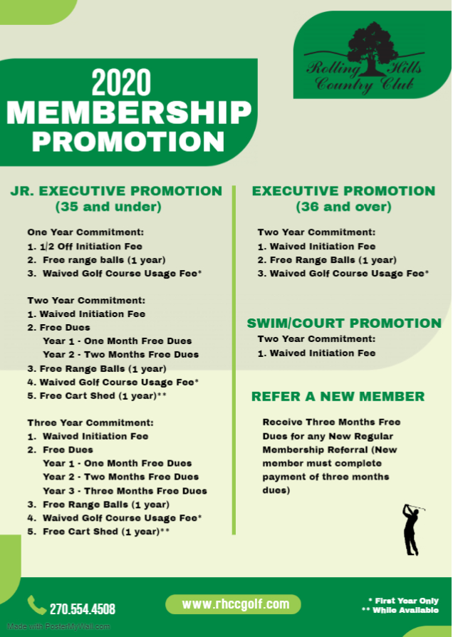 Membership Flyer 2020
